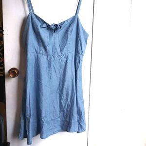 Old navy denim  cami dress XL